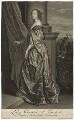 Lucy Hay (née Percy), Countess of Carlisle, by Pieter Stevens van Gunst, after  Sir Anthony van Dyck - NPG D32676