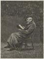 Thomas Carlyle, published by The Graphic, after  Helen Allingham - NPG D32680