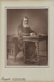 John Ruskin, by Herbert Rose Barraud, published by  Richard Bentley & Son - NPG Ax5407