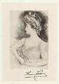 Almina Victoria (née Wombwell), Countess of Carnarvon, after Paul César Helleu - NPG D32692