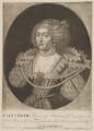 Princess Elizabeth, Queen of Bohemia and Electress Palatine, by John Faber Sr, published by  George Bickham the Younger, after  Michiel Jansz. van Miereveldt - NPG D32639