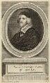 Sir Edward Nicholas, possibly by George Vertue, after  Adriaen Hanneman - NPG D29801