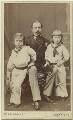 Prince Francis of Teck; Prince Francis, Duke of Teck; Prince Adolphus, Duke of Teck and Marquess of Cambridge, by W. & D. Downey - NPG Ax131384