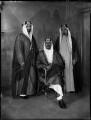 Youssef Yassin; Saud bin Abdul Aziz, King of Saudi Arabia; Hafiz Wahba, by Bassano Ltd - NPG x152985