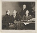 Henry Phipps, Viscount Normanby and Earl of Mulgrave; Sir George Howland Beaumont, 7th Bt; Edmund Phipps; Augustus Phipps, by William James Ward, after  John Jackson - NPG D7633
