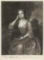 Frances Carteret (née Worsley), Lady Carteret, by John Simon, after  Charles D'Agar - NPG D32715