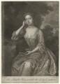 Frances Carteret (née Worsley), Lady Carteret, by John Faber Jr, after  Charles D'Agar - NPG D32717