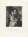 John Joshua Proby, 1st Earl of Carysfort; Elizabeth Storer (née Proby), by Charles Algernon Tomkins, after  Sir Joshua Reynolds - NPG D32722