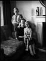 Timothy Cecil Frankland; Elizabeth Cecil Frankland (née Sanday); Frederick Mark Frankland, by Bassano Ltd - NPG x153021