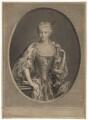 Maria Clementina Sobieska, by Pierre Drevet, after  Antonio David - NPG D32662