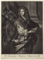 Sir Thomas Isham, Bt, after Sir Peter Lely, published by  David Loggan - NPG D29955