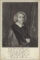 Sir John Webster, Bt, by Theodor Matham, after  Cornelius Johnson - NPG D29960