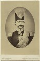 Nasser al-Din, Shah of Persia, by London Stereoscopic & Photographic Company - NPG Ax46180