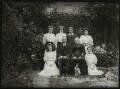 Albert Edward Broom and family, possibly by Mrs Albert Broom (Christina Livingston) - NPG x131438