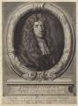 Sir Edmund King, by Robert White, after  Sir Godfrey Kneller, Bt - NPG D30034