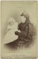 Alexander Albert Mountbatten, 1st Marquess of Carisbrooke; Queen Victoria, by Andrew & George Taylor - NPG x76538