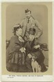 Queen Victoria; Prince Arthur, 1st Duke of Connaught and Strathearn; Princess Beatrice of Battenberg, by George Washington Wilson - NPG x76540