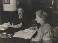 Sidney James Webb, Baron Passfield; Beatrice Webb, by Unknown photographer - NPG P1292(2)