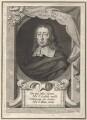 John Milton, by George Vertue, after  William Faithorne - NPG D30101
