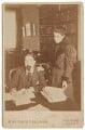 Sidney James Webb, Baron Passfield; Beatrice Webb, by Martin & Sallnow - NPG P1292(10)