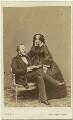 Prince Albert of Saxe-Coburg-Gotha; Queen Victoria, by John Jabez Edwin Mayall - NPG Ax47001