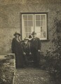 Beatrice Webb; Sidney James Webb, Baron Passfield; George Bernard Shaw, by Unknown photographer - NPG P1292(19)