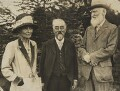 'Hill Farm' (Beatrice Webb; Sidney James Webb, Baron Passfield; George Bernard Shaw), by Unknown photographer - NPG P1292(23)