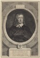 John Milton, by George Vertue, after  William Faithorne - NPG D30109