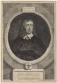 John Milton, by George Vertue, after  William Faithorne - NPG D30109
