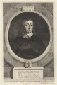 John Milton, by George Vertue, after  William Faithorne - NPG D30110