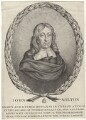 John Milton, by Giovanni Battista Cipriani, after  William Faithorne - NPG D30111