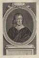 John Milton, by George Vertue, after  William Faithorne - NPG D30116