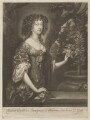 Mary of Modena, by and published by Abraham Blooteling (Bloteling), after  Sir Peter Lely - NPG D32751