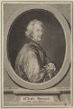 John Dryden, by Jan van der Leuw (Leeuw), after  Sir Godfrey Kneller, Bt - NPG D30120