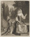 Prince James Francis Edward Stuart; Mary of Modena, published by John Smith, after  Unknown artist - NPG D32756