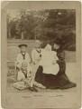 Queen Victoria with her grandchildren, by Hughes & Mullins - NPG x6052
