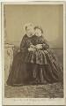 Queen Victoria; Princess Beatrice of Battenberg, by Ghémar Frères - NPG x32970