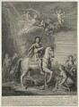 King William III, by and published by Bernard Baron, and published by  Thomas Bowles Jr, and published by  John Bowles, after  Sir Godfrey Kneller, Bt - NPG D32768