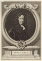Edmund Waller, by George Vertue, after  Sir Godfrey Kneller, Bt - NPG D30150