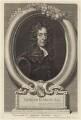 Edmund Waller, by George Vertue, after  Sir Godfrey Kneller, Bt - NPG D30151