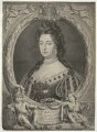Queen Mary II, by and published by Peter Vanderbank (Vandrebanc), and published by  Christopher Browne, after  Sir Godfrey Kneller, Bt - NPG D32780