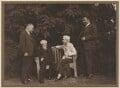 Ivan Mikhailovich Maisky; Sidney James Webb, Baron Passfield; Beatrice Webb; M. Novikov, by Unknown photographer - NPG P1292(61)