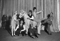 Rehearsals for the second Crazy Month at the Palladium, by James Jarché, for  Daily Herald - NPG x88325
