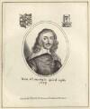 Henry Oxinden (Oxenden), after George Glover, published by  William Richardson - NPG D30182