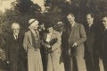 Sidney James Webb, Baron Passfield; Beatrice Webb with others, by L. Vulb - NPG P1292(69)