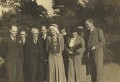 Sidney James Webb, Baron Passfield; Beatrice Webb with others, by L. Vulb - NPG P1292(70)