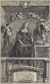 Margaret Cavendish (née Lucas), Duchess of Newcastle upon Tyne, by Pieter Louis van Schuppen, after  Abraham Diepenbeeck - NPG D30185