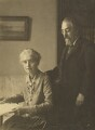 Beatrice Webb; Sidney James Webb, Baron Passfield, probably by Bassano Ltd - NPG P1292(86)