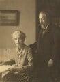 Beatrice Webb; Sidney James Webb, Baron Passfield, probably by Bassano Ltd - NPG P1292(86)