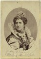 Adelaide Ristori as Queen Elizabeth in 'Elizabeth, Queen of England', by Thomas Houseworth & Co - NPG x19011